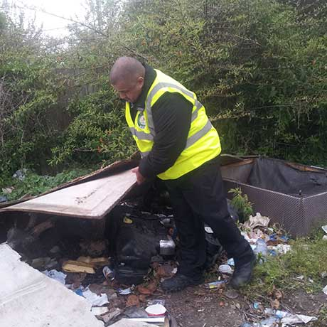 Tackling fly-tipping